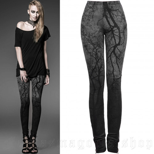 Black Metal Leggings