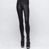 women's Adora Leggings by PUNK RAVE brand, code: K-291/BK