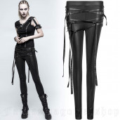 women's Straparella Leggings by PUNK RAVE brand, code: K-306