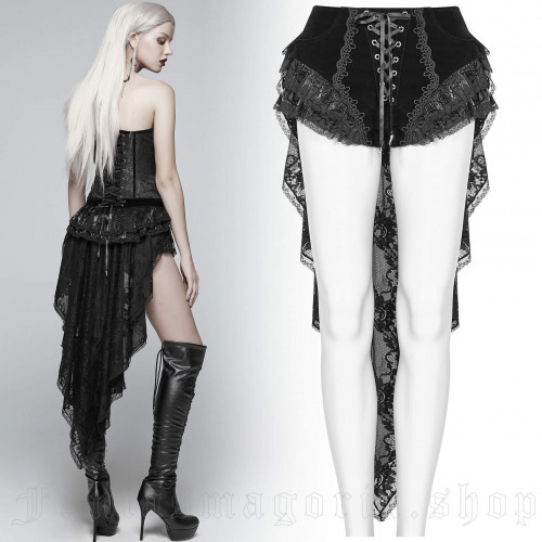 women's Amuria Shorts by PUNK RAVE brand, code: WK-354