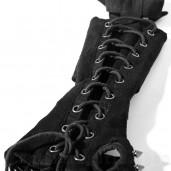 women's Ripley Glove (Single) by PUNK RAVE brand, code: S-178/BK