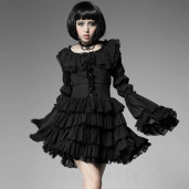 women's Puffpastry Dress by PUNK RAVE brand, code: LQ-063