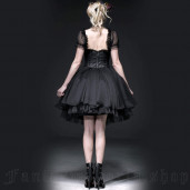 women's Angel Dust Dress & Corset by PUNK RAVE brand, code: LQ-067