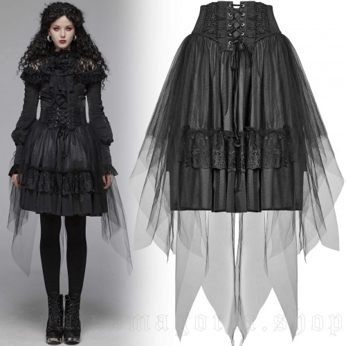 Gothic Butterfly Skirt