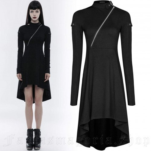 Tech Noir Dress