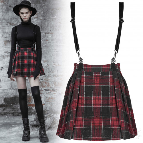 Red Alice Skirt