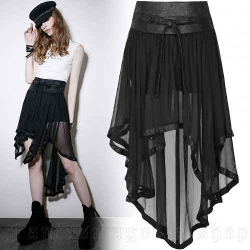 The Ghost Shorts With Skirt