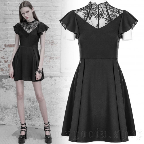 Black Blossom Dress
