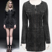 women's The Nomad Dress by PUNK RAVE brand, code: Q-226