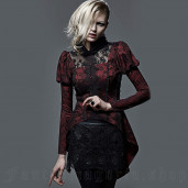 women's Love Lace Skirt by PUNK RAVE brand, code: Q-258