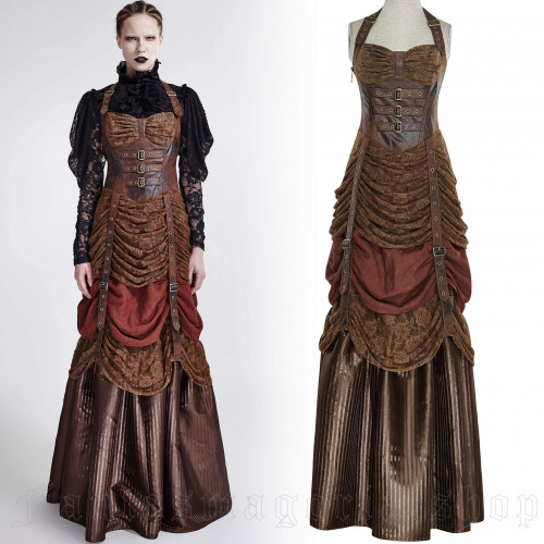 Steampunk Lady Dress