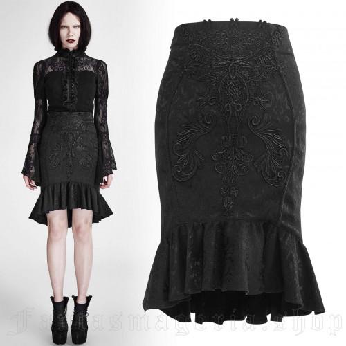 Fleur De Lys Short Skirt