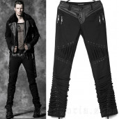 men's Alien Trousers by PUNK RAVE brand, code: K-174