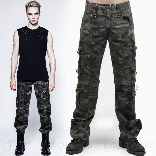 Camouflage Trouser-Shorts