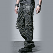 men's Camouflage Trouser-Shorts by PUNK RAVE brand, code: K-190