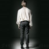men's Vampyr Trousers by PUNK RAVE brand, code: K-193