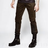 men's Wasteland Trousers by PUNK RAVE brand, code: K-199/CO