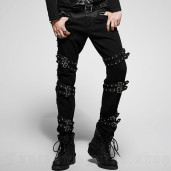 men's Nostromo Trousers by PUNK RAVE brand, code: K-206
