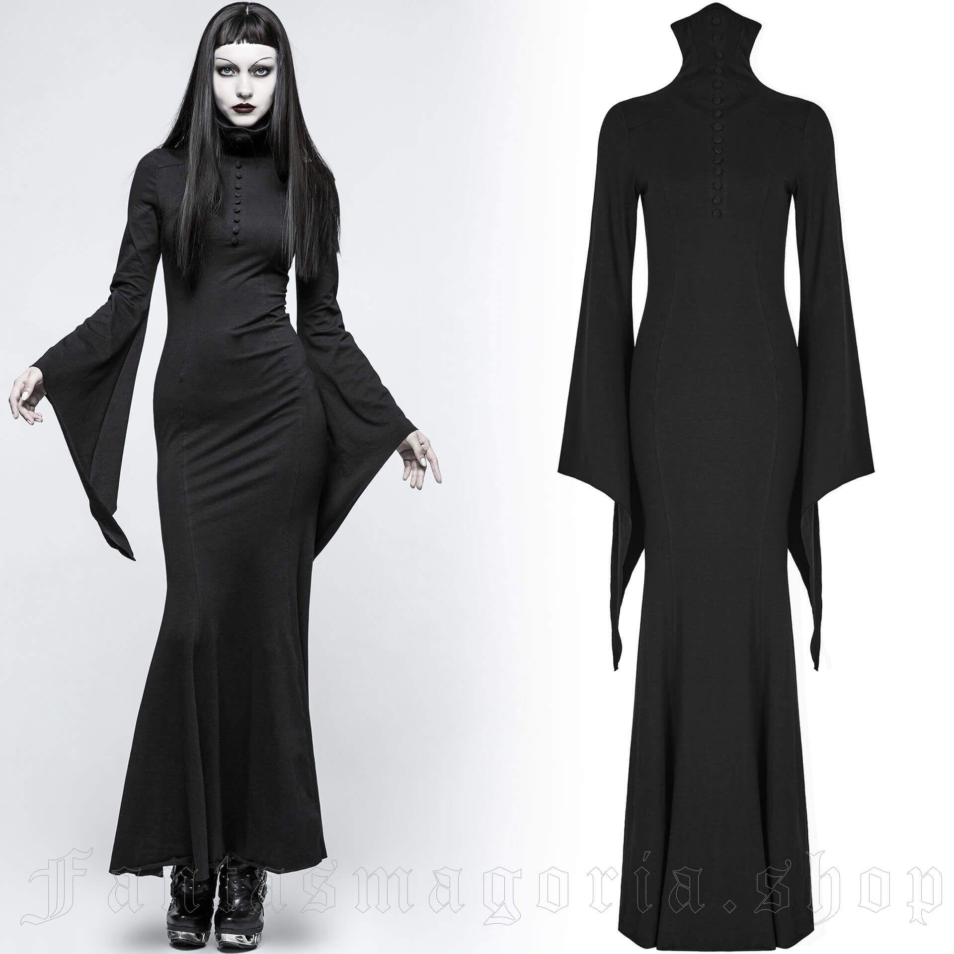 women's High Priestess Dress by PUNK RAVE brand, code: Q-334