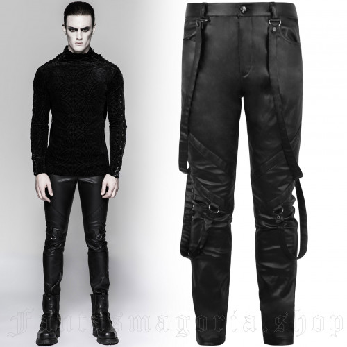 men's Monument Trousers by PUNK RAVE brand, code: K-219