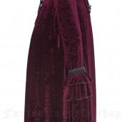 women's Vampire Queen Dress by PUNK RAVE brand, code: WQ-360/RD
