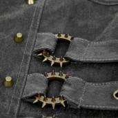 men's Diablo Shorts by PUNK RAVE brand, code: K-242