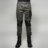 men's Aviator Trousers by PUNK RAVE brand, code: K-263