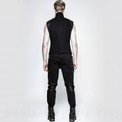 men's Militarist Trousers by PUNK RAVE brand, code: K-264