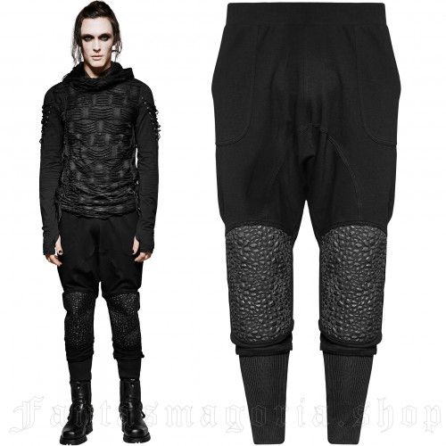 Black Martyr Trousers