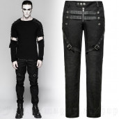 men's Aries Trousers by PUNK RAVE brand, code: K-279