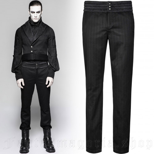 Black Cardinal Trousers