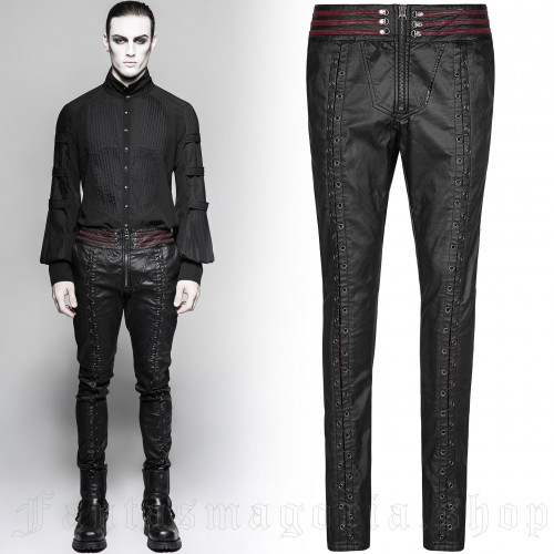 men's Centaur Trousers by PUNK RAVE brand, code: K-285