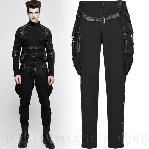 Black Cossack Trousers