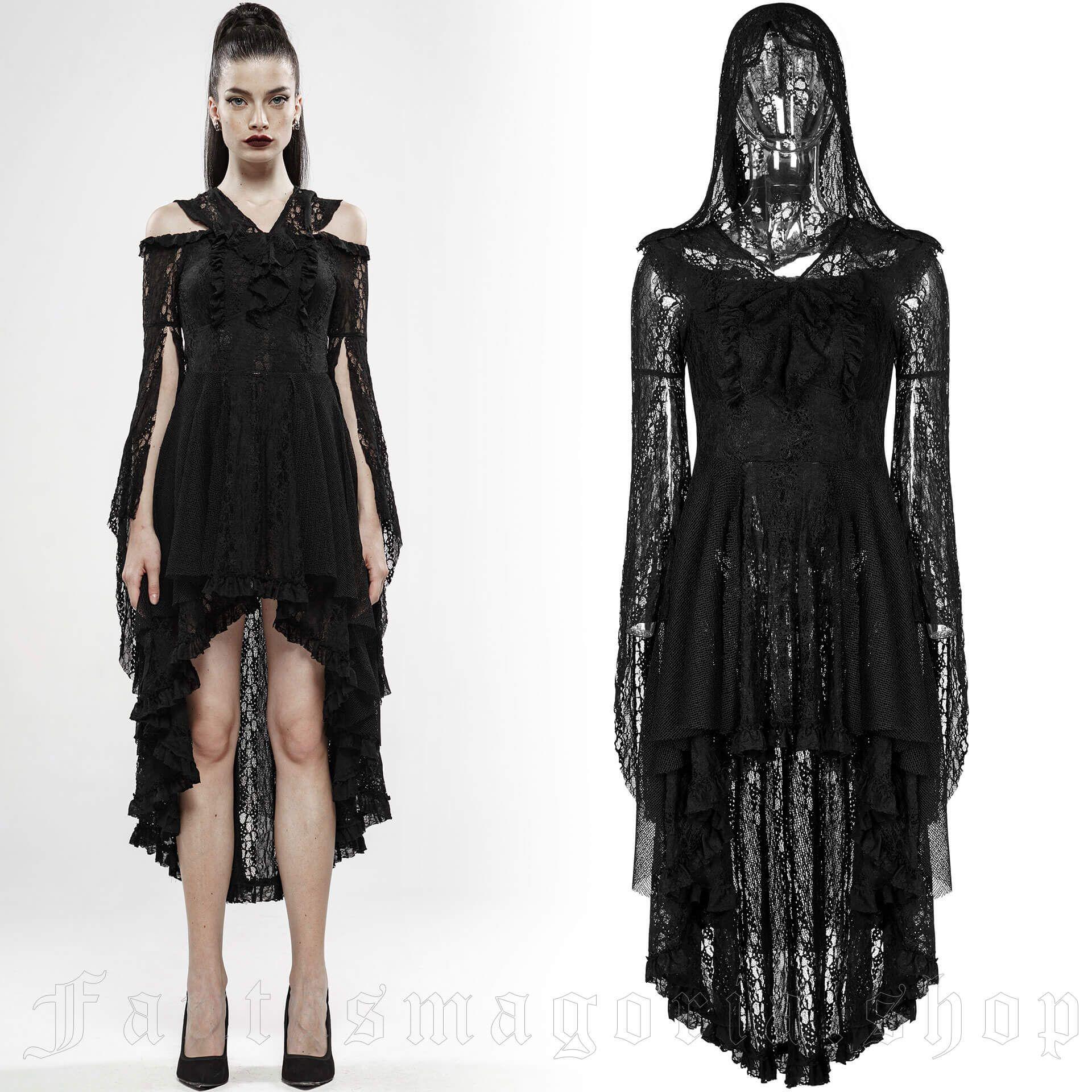 women's Spellbound Dress by PUNK RAVE brand, code: WQ-456/BK