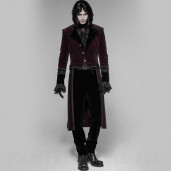 men's Gothic Romeo Trousers by PUNK RAVE brand, code: OK-336