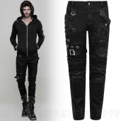 men's Nazgul Trousers by PUNK RAVE brand, code: WK-319/Male