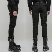 men's Dracarys Trousers by PUNK RAVE brand, code: WK-323/GR
