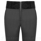 men's Romantic Goth Trousers by PUNK RAVE brand, code: WK-333