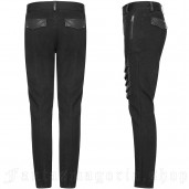 men's Gotham Trousers by PUNK RAVE brand, code: WK-337