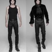 men's Florian Trousers by PUNK RAVE brand, code: WK-341