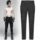 men's Titan Trousers by PUNK RAVE brand, code: WK-357