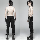 men's Titan Trousers by PUNK RAVE brand, code: WK-357
