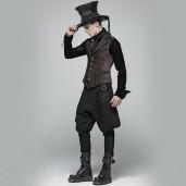 men's Havoc Crew Uniform Trousers by PUNK RAVE brand, code: WK-359/BK