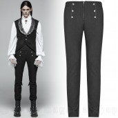 men's Mystic Trousers by PUNK RAVE brand, code: OK-360