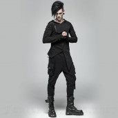 men's Manticore Trousers by PUNK RAVE brand, code: WK-364