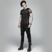 men's The Dark Tower Trousers by PUNK RAVE brand, code: WK-369