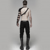 men's Orkus Trousers by PUNK RAVE brand, code: WK-384