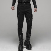 men's Cthulhu Trousers by PUNK RAVE brand, code: WK-388