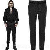 men's Royal Vampire Trousers by PUNK RAVE brand, code: WK-403/BK
