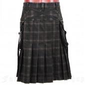 men's Berserk Kilt by PUNK RAVE brand, code: Q-225/BN